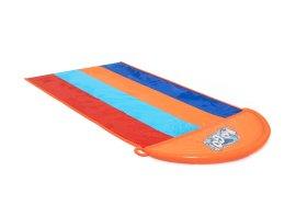 Pripučiama keturvietė vandens čiuožykla BESTWAY Quadruple Slide, 4,88 m., 52323