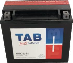 Akumuliatorius TAB YTX20LBS