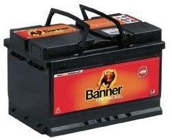 Akumuliatorius Banner Starting Bull 55Ah 12V 450A 241x175x175mm