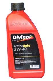 Variklinė alyva DIVINOL 5W-40, SN/CF, Syntholight, 1l, sintetinė