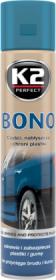 Polirolis K2 BONO, plastmasinių ir guminių detalių, 300 ml