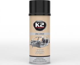 Dažai K2 CYNK SPRAY, 400 ml