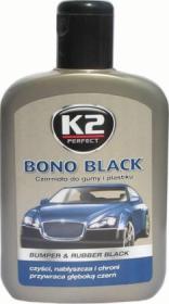 Juodiklis K2 BONO BLACK, plasmasinėms detalėms, 200 ml