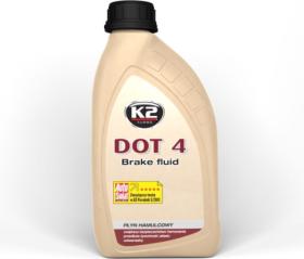Stabdžių skystis K2 DOT-4, sintetiniai, 500 ml
