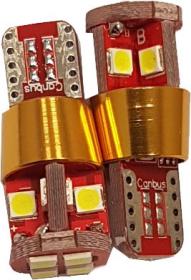 Automobilinė lemputė ALBURNUS  T10, 12V, 12SMD, LED, 2 vnt