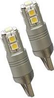 Automobilinė lemputė ALBURNUS T10, 12V, 10SMD, LED  T10, 2 vnt