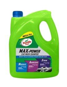 Automobilinis šampūnas TURTLE WAX MAX-POWER, 4 L