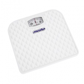 Vonios svarstyklės MESKO MS8160, maksimalus svoris - 130 kg., baltos spalvos