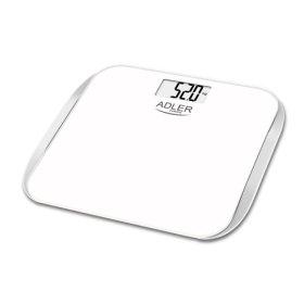 Vonios svarstyklės ADLER AD8164, elektroninės maksimalus svoris - 180 kg., 6 mm., grūdinto stiklo  pagrindas, N