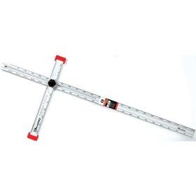 Reguliuojama T formos liniuotė KAPRO, 120 cm