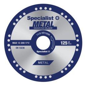 Diskas SPECIALIST+ 11/2-VD125R