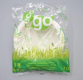 Vienkartiniai cukranendrių dubenėliai ECO GO 10