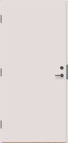 Priešgaisrinės ir garsą izoliuojančios  VILJANDI  FD09  vidaus durys,  Matmenys 900 x 2100 mm, dešininės su stakta (EI30, Sm/Sa, C5, 38dB.)
