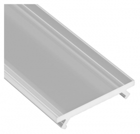 Dangtelis LED profiliui SOLIS, PMMA, pusiau skaidrus, 2,02 m