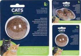 Žaislas katėms su katžole, kamuoliukas/pelė, 2 rūšių