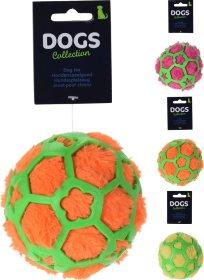 Žaislas šunims, kamuoliukas, skirtingų spalvų