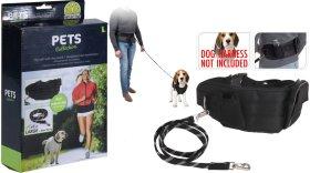 Pavadėlis šunims, skirtas begiojimui kartu su gyvūnu, maksimalus gyvūno svoris 50 kg.