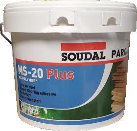 Polimeriniai klijai parketui SOUDAL MS-20 Plus