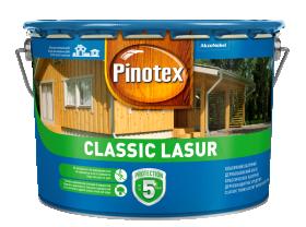 Medienos impregnantas PINOTEX CLASSIC, 10 l raudonmedis, matinis