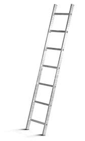 Aliumininės atremiamos kopėčios HERVIN TOOLS (AS0111A) 11 pakopų, 314,5 cm.