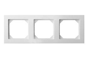 Rėmelis  LIREGUS EPSILON 3 vietų, baltos spalvos, K14-245-03 E/B,