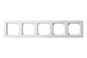 Rėmelis  LIREGUS EPSILON 5 vietų, baltos spalvos, K14-245-05 E/B,