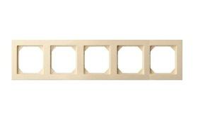 Rėmelis  LIREGUS EPSILON 5 vietų, smėlio spalvos, K14-245-05  E/S,