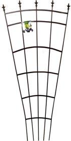 Metalinės grotelės ROYAL TRELLIS, plotis 800 mm., aukštis 1800 mm., trapecijos formos