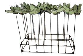 Metalinė sodo dekoracija LUCILY, plotis 320 mm., aukštis 690 mm., 1 vnt.