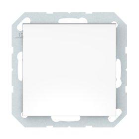 Perjungiklis VILMA QR1000 P710-010-12, 1 klavišo, įleidžiamas, kryžminis, baltos sp