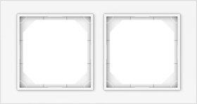 Rėmelis VILMA QR1000 R02, 2 vietų, baltos sp