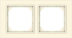 Rėmelis VILMA QR1000 R02, 2 vietų, dramblio kaulo sp