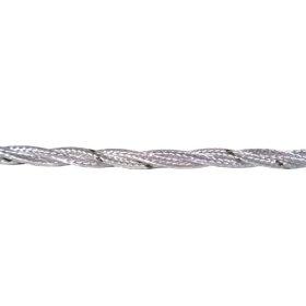 Instaliacinis kabelis ELECTRALINE, tekstilinis, 3*0,75, baltos spalvos, 31200