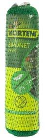 Tinklas nuo paukščių, lietas HDPE, UV apsauga   2 x 5 m, 18 x 18 mm.