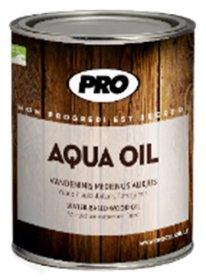 AQUA OIL aliejus 0,9L rudas