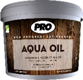 AQUA OIL aliejus 2,7L tamsiai rudas