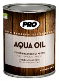 AQUA OIL aliejus 0,9L pilkas