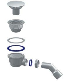 Dušo sifonas MCH G411HE, chromuotas, skersmuo 115 mm, Čekija
