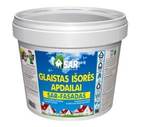 Glaistas SAR-FASADAS, išorei ir drėgnoms vidaus aplinkoms, 5 kg