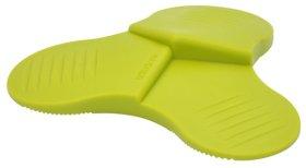 Durų atrama-pleištas, trigubas, d-108,5 mm, aukštis 19,1 mm, termoplastiko guma, žalia