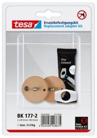 Tvirtinimo rinkinys TESA BK177-2, pakaitinis, 40348