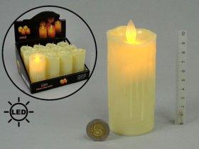 Elektrinė žvakė su judančia liepsna