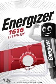 Maitinimo elementai ENERGIZER CR1616, LITHIUM, 1 vnt.