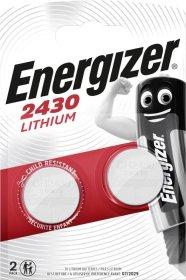 Maitinimo elementai ENERGIZER CR2430, LITHIUM, 1 vnt.