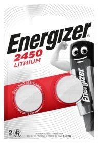 Maitinimo elementai ENERGIZER CR2450, LITHIUM, 2 vnt.