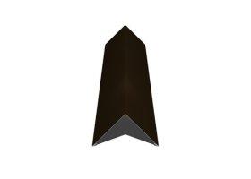 Kraigas   Matmenys 140 x 140 x 2000 mm, rudos spalvos, RR32/RAL8019