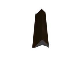 Vėjalentė   Matmenys 80 x 100 x 2000 mm, rudos spalvos, RR32/RAL8019, PG