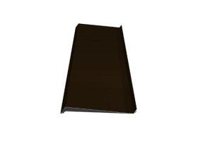 Palangė   Matmenys 140 x 2000 mm, rudos spalvos, RR32/RAL8019