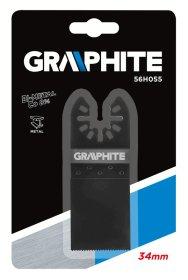 Geležtė metalui GRAPHITE 56H056