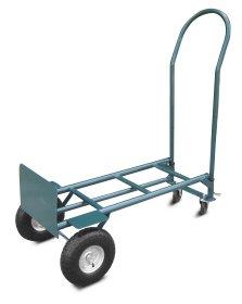 Krovinių vežimėlis HERVIN EQUIPMENT, 2 in 1, apkrova iki 300 kg, 172×55×46cm,  HT-020